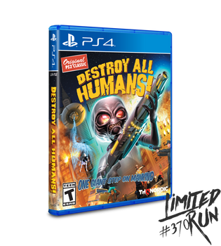 Destroy All Humans! - Limited Run (Playstation 4)