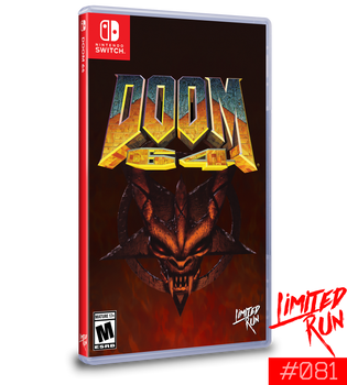Doom 64 - Limited Run (Nintendo Switch)