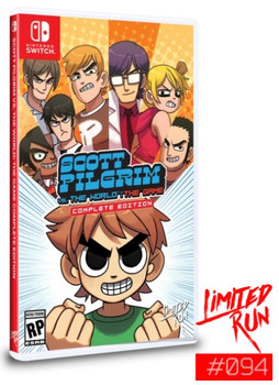 Scott Pilgrim Vs. The World: The Game - Limited Run (Nintendo Switch)