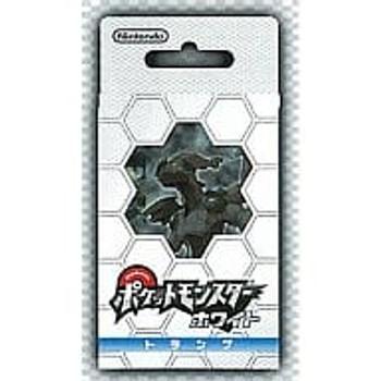 """Nintendo Japan """"Pokemon White"""" Playing Card Set (POKER CARDS)"""
