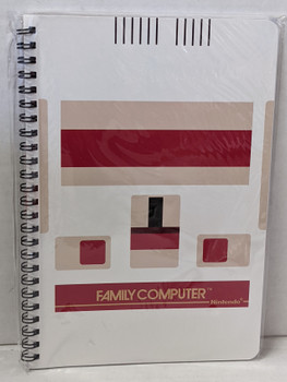 FAMILY COMPUTER (FAMICOM) SPIRAL NOTEBOOK A: CONSOLE  by Sanei Boueki
