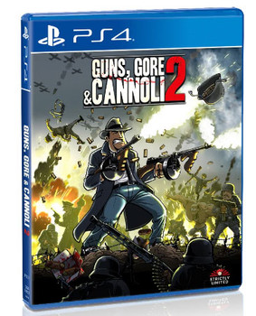 GUNS, GORE & CANNOLI 2 -  [STRICTLY LIMITED] PlayStation 4