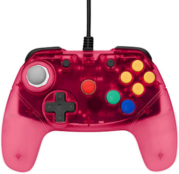Brawler64 Controller - Red (Nintendo 64)