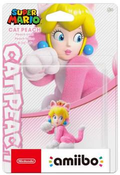 Amiibo Super Mario Series Figure (Neko Peach) Japan