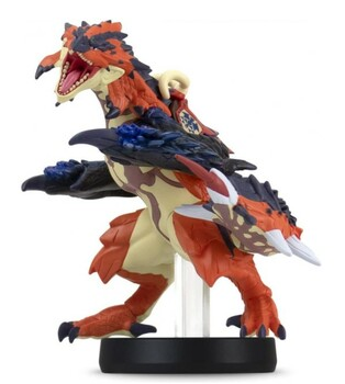 Amiibo Monster Hunter Stories Series 2 Figure (Razewing Ratha) Japan