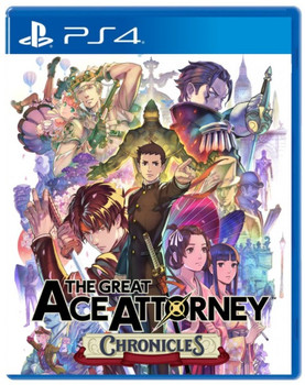 The Great Ace Attorney Chronicles - PlayStation 4 (English)