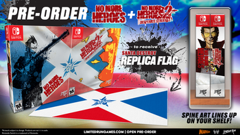 No More Heroes Collector's Edition - Limited Run (Nintendo Switch)