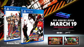 The King Of Fighters Collection: The Orochi Saga Limited Run (Playstation 4)