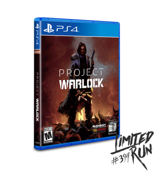 Project Warlock Limited Run (Playstation 4)
