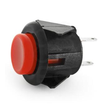 Sanwa SDM-18 mm Pushbutton Red