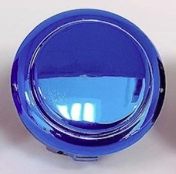 SANWA OBSJ-30 mm Pushbutton Metallic Blue