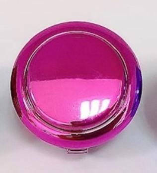 SANWA OBSJ-30 mm Pushbutton Metallic Pink
