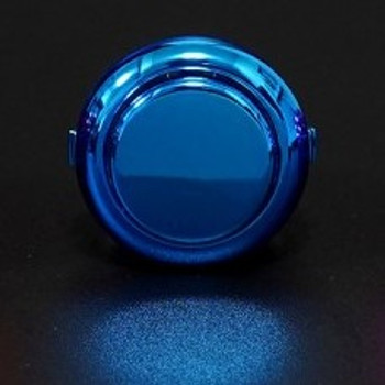 SANWA OBSJ-24 mm Pushbutton Metallic Blue