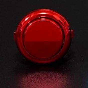 SANWA OBSJ-24 mm Pushbutton Metallic Red