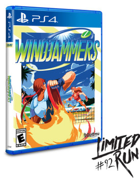 WINDJAMMERS - Limited Run - PlayStation 4