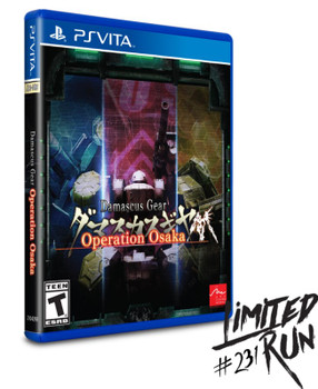 Damascus Gear: Operation Osaka - Limited Run - PlayStation Vita