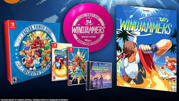 WINDJAMMERS COLLECTOR'S EDITION - Limited Run - Nintendo Switch