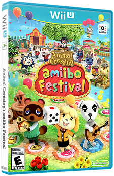 Animal Crossing: Amiibo Festival (Game Only) - WiiU