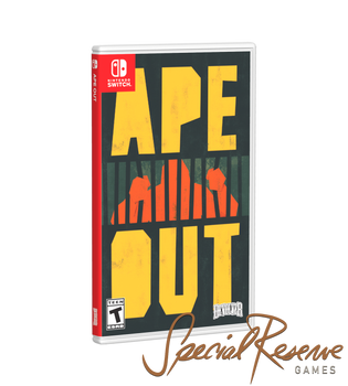 Ape Out - Special Reserve (Nintendo Switch)