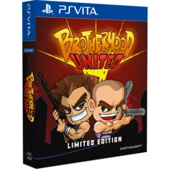 Brotherhood United [Limited Edition] English Language Multi Language Playstation Vita