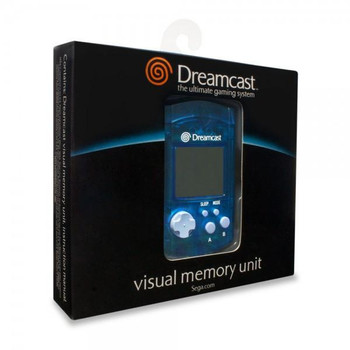 Sega Dreamcast VMU Virtual Memory Unit [BLUE]