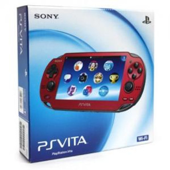 Sony Playstation Vita Cosmic Red Wifi, PlayStation Vita, VideoGamesNewYork, VGNY