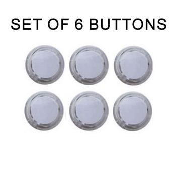 Seimitsu 6pcs PS-14-K Snap-In Buttons, Push Button Sets, VideoGamesNewYork, VGNY