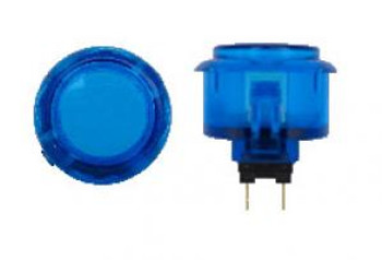 SANWA OBSC-24 mm Push Button Clear Blue