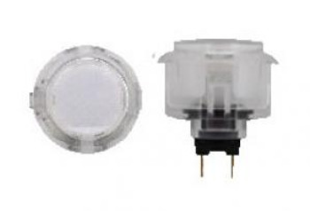 OBSC-30 CLEAR, 30mm Clear Buttons, VideoGamesNewYork, VGNY