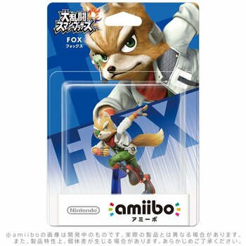 Fox Amiibo  - Japan Import
