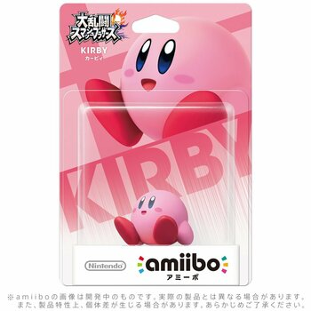 Kirby Amiibo  - Japan Import