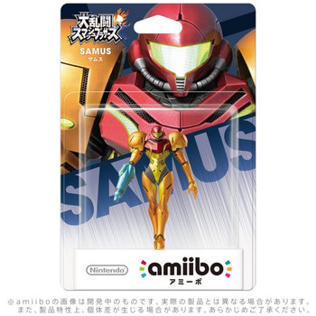 Samus Amiibo  - Japan Import