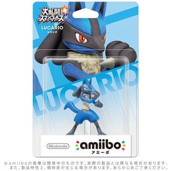 Lucario Amiibo  - Japan Import