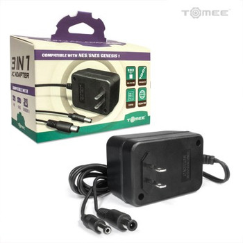 Genesis/ SNES/ NES 3-in-1 Universal AC Adapter