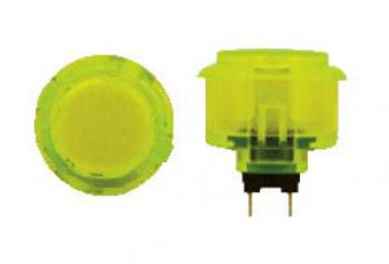 OBSC-30 YELLOW, 30mm Clear Buttons, VIdeoGamesNewYork, VGNY