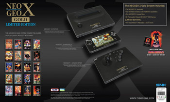 Neogeo X Gold Limited Edition