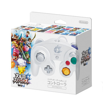Nintendo GameCube Controller - Super Smash Bros - WHITE