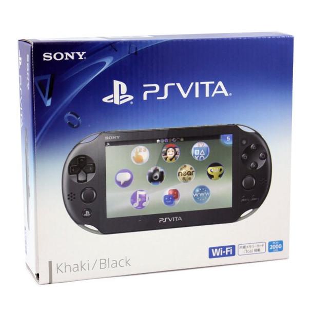 PS Vita Slim 2000 [KHAKI / BLACK], PlayStation Vita, VideoGamesNewYork, VGNY