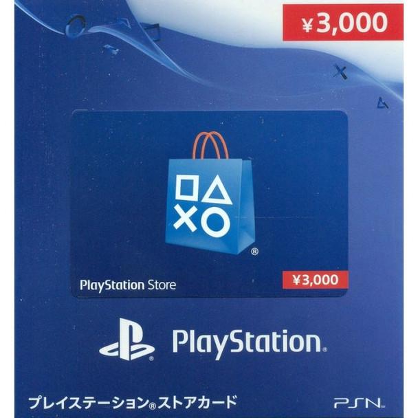 PSN 3000-YEN [JAPAN] POINT CARD, PlayStation Vita, VideoGamesNewYork, VGNY