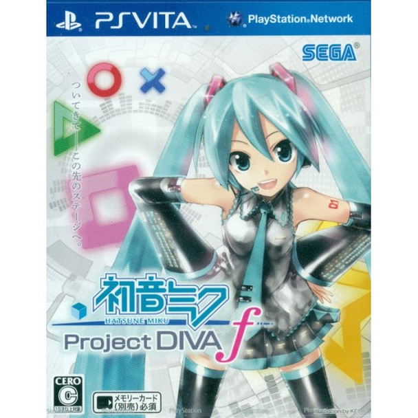 HATSUNE MIKU -PROJECT DIVA- F [JAPAN], PlayStation Vita, VideoGamesNewYork, VGNY
