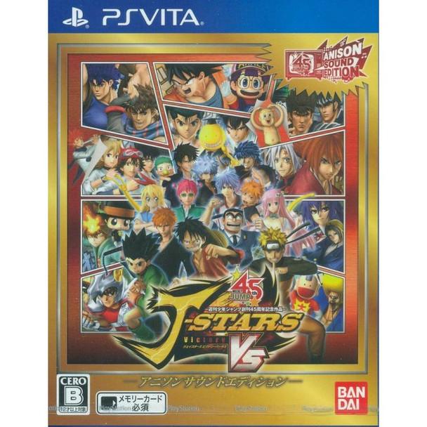 J-STARS VICTORY VS ANISON SOUND EDITION [JAPAN], PlayStation Vita, VideoGamesNewYork, VGNY