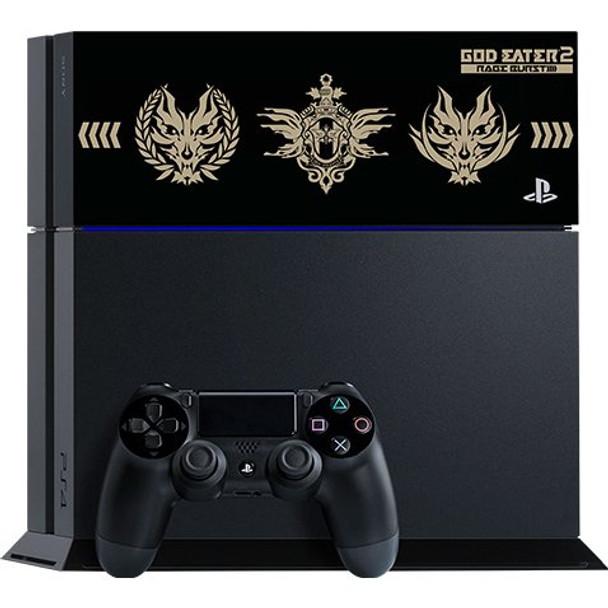 PlayStation 4 System [God Eater 2: Rage Burst Edition] (Jet Black) [JAPAN]