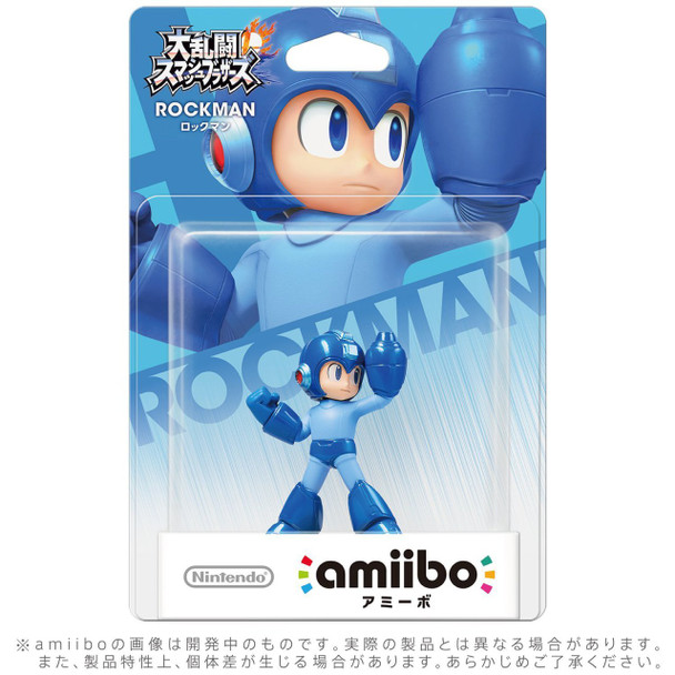 Rockman Amiibo  - Japan Import