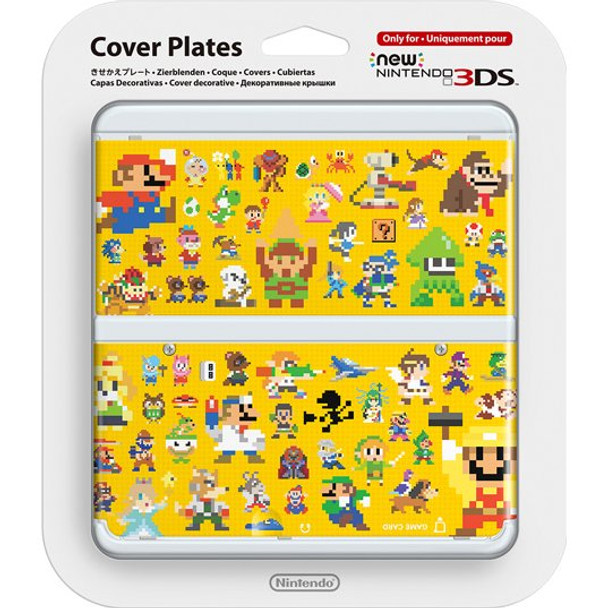 NEW NINTENDO 3DS COVER PLATES - N. 067 MARIO MAKER