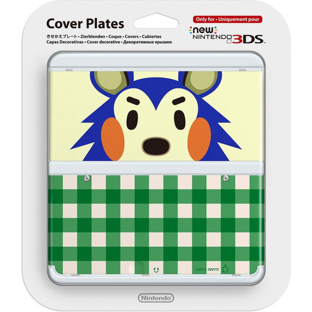 NEW NINTENDO 3DS COVER PLATES NO.015 (ANIMAL CROSSING KINUYO)