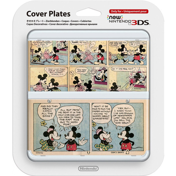 NEW NINTENDO 3DS COVER PLATES N. 075 (DISNEY TYPE 3)