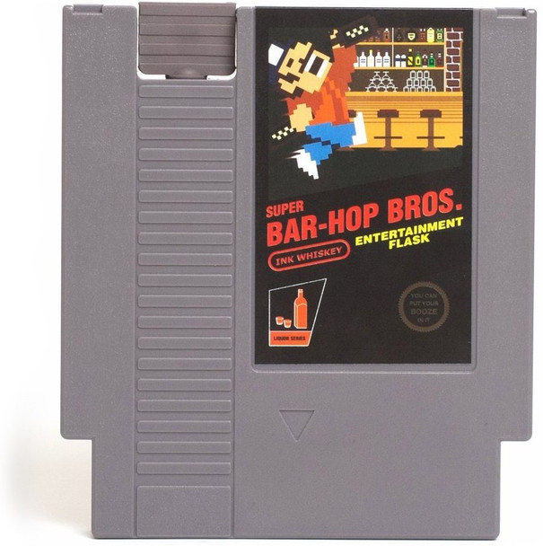 CONCEALABLE ENTERTAINMENT FLASK - SUPER BAR-HOP BROS.