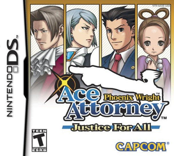 PHOENIX WRIGHT: JUSTICE FOR ALL