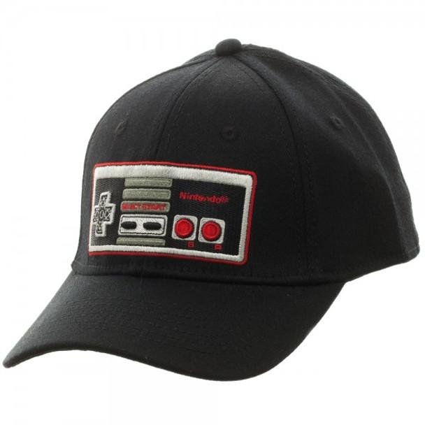 Nintendo Controller Black Flex Cap