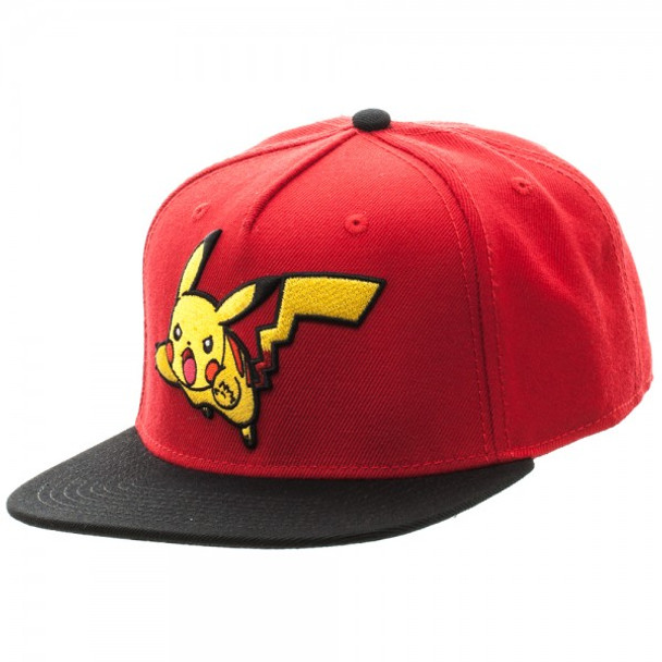 Pokemon Pikachu Color Block Snapback